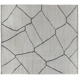 Grey Moroccan Design Rug