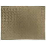 Green High Low Diamonds Area Rug