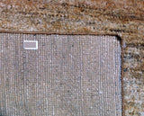 Brown and Cream Hemp Area Rug