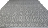 Gray and Ivory Pattern Rug