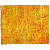Grunge Yellow Rug - Multiple Sizes