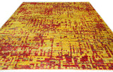 Grunge Red Rug - Multiple Sizes