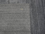 Slate Lorri Buff Wool Area Rug