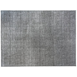 Ripples Hand Tufted Rug in Black and Gray