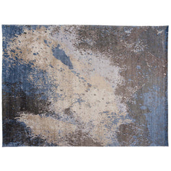 Abstract Sea Splash Rug