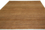 Golden Brown Tweed Area Rug