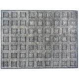 Hand Tufted Squares Pattern Rug