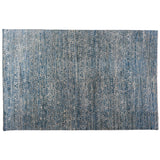 Soft Melody Collection Blue Contemporary Rug