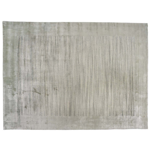 Mint Bamboo Silk Area Rug