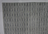Grey High Low Contemporary Rug