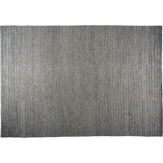 Grey Braided Area Rug