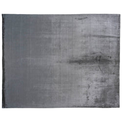 Dark Grey Wool Area Rug