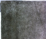 Silver Wool Area Rug