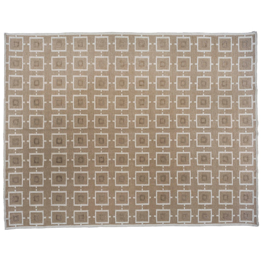 Contemporary Taupe Area Rug