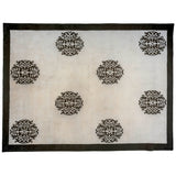 Peking Design Wool and Silk Area Rug