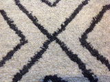 Black Diamonds Area Rug