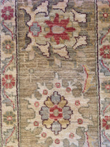 Traditional Pakistani Rug in Brown and Beige