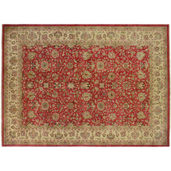 Red and Gold Persian Design Rug