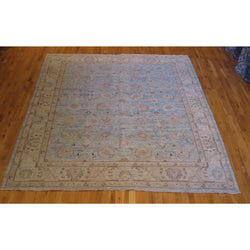 Light Blue Floral Rug