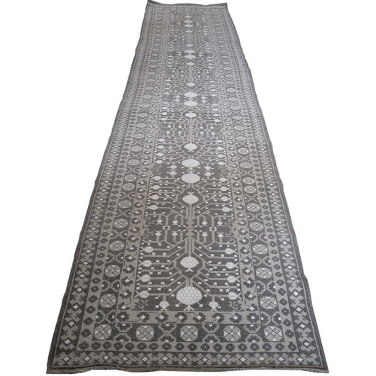 Gray Pomegranate Design Runner
