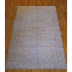 Brown Distressed Rug
