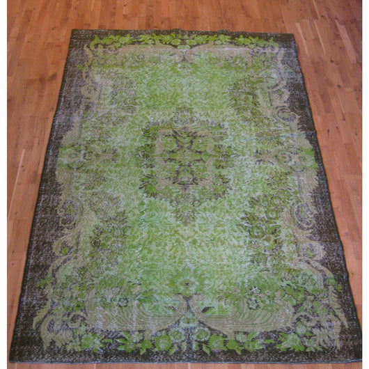 Green Overdyed Rug