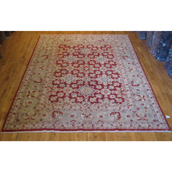 Red All-over Design Rug
