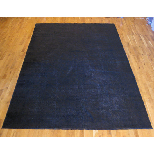 Navy Blue Overdyed Rug