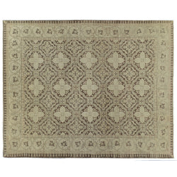 Brown and Beige Pakistani Rug