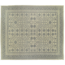 Gray Pomegranate Design Rug