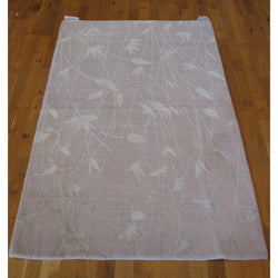 Silver Leaves Contemporary Rug