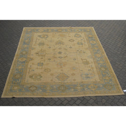 Beige and Gold Anatolian Rug