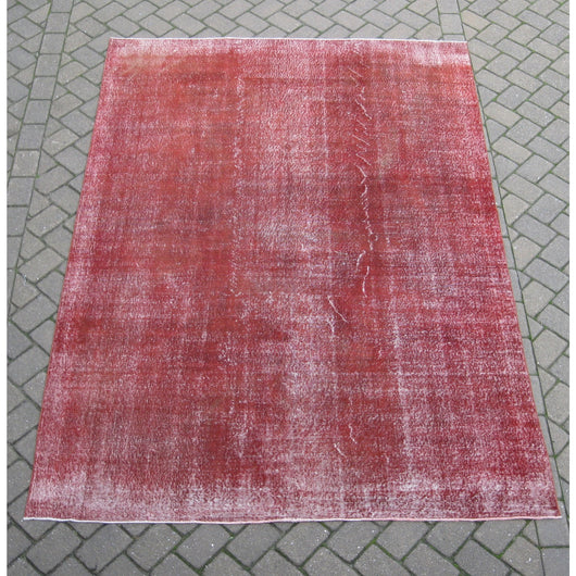 Red Overdyed Rug