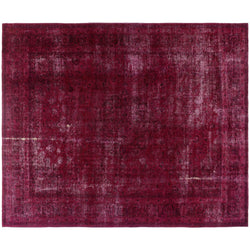 Fuchsia Distressed Rug