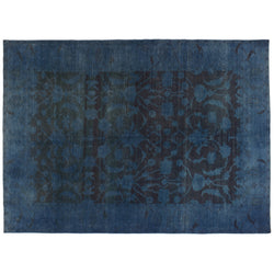 Distressed Blue Rug