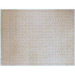 Beige All-Over Design Rug