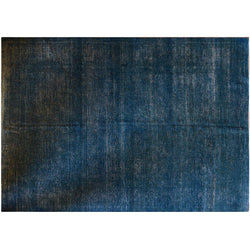 Dark Blue Overdyed Area Rug