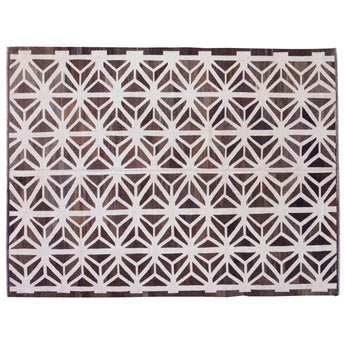 Geometric Brown Modern Kilim