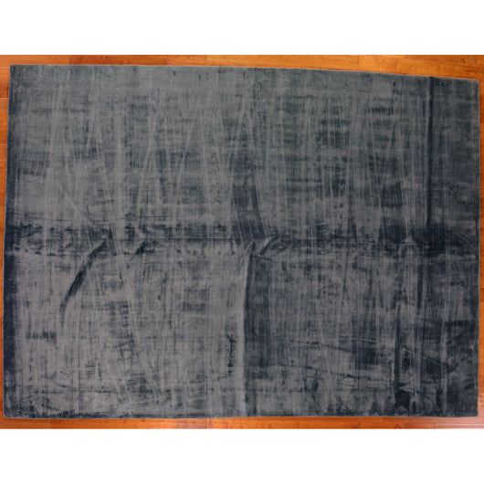 Dark Grey Hand Loomed Area Rug