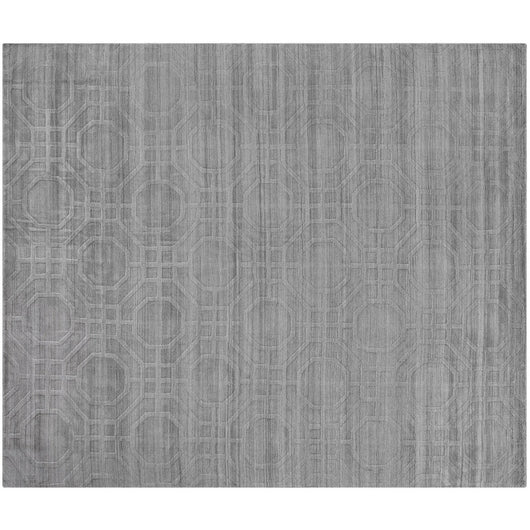 Gray Octagons Rug