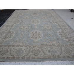Light Blue Afghani Rug