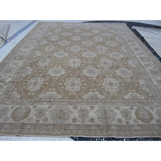Light Brown Medallians Rug