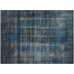 Blue Distressed Rug