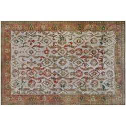 Multi Color Distressed Rug