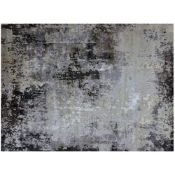 Gray Multi Abstract Rug
