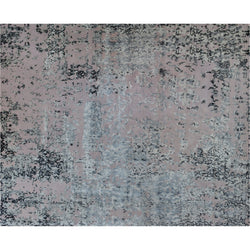 Silver Blue Multi Abstract Rug
