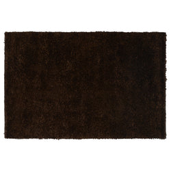 Dark Brown Shaggy Rug