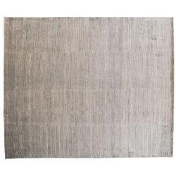 Gold and Taupe Ribbed Rug