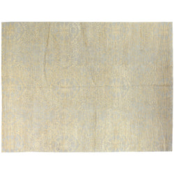 Gold Sliced Design Rug