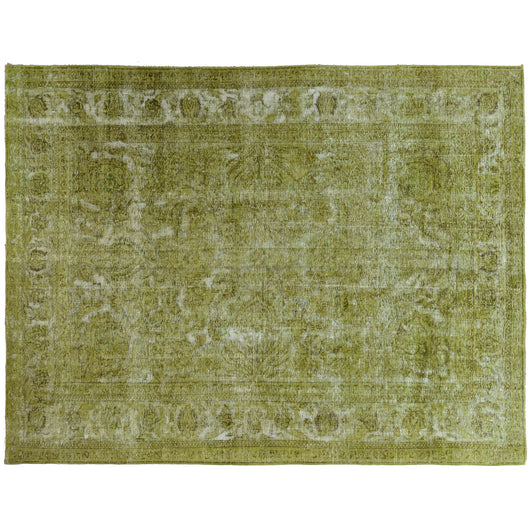 Green Overdyed Area Rug